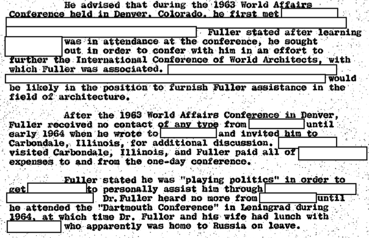 Fuller explained that he was 'playing politics'